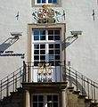 Lemgo - Alte Abtei 1768, Eingangstüre zur Volkshochschule.jpg