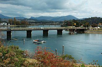 Ulverstone, Tasmania - Old Leven River Bridge