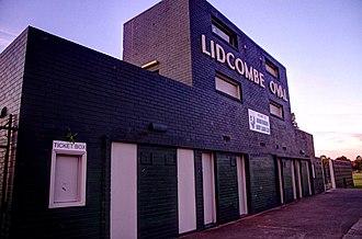 Lidcombe Oval - Image: Lidcombe Oval