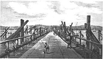 Lidingöbron - Image: Lidingöbron 1871