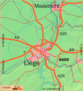 Image illustrative de l'article Autoroute belge A605