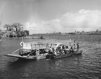 Likoni Ferry - Likoni Ferry, early 1950s