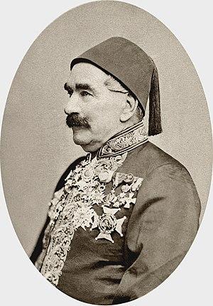 Louis Maurice Adolphe Linant de Bellefonds - Image: Linant Pacha de Bellefonds, Louis Maurice Adolphe, BNF Gallica