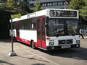 VöV-Standard-Bus - S 80 prototype with small tyres