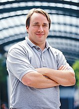 Linus Torvalds - creator of the Linux kernel.