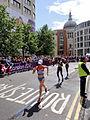 Lisa Christina Stublic (Croatia) - London 2012 Women's Marathon.jpg