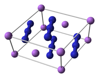 Lithium azide chemical compound