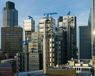 Lloyd's building - Image: Lloyds Building, London 2007