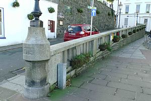 Royal Guernsey Militia - Loafers wall, in remembrance of Guernseymen who died in WW1