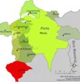 Localització de Vilafranca respecte de Els Ports.png