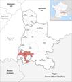 Locator map of Kanton Grignan 2019.png