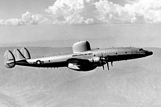Boeing E-3 Sentry - The piston-engined EC-121 Warning Star, a military development of the Lockheed Constellation, saw service since the mid-1950s.