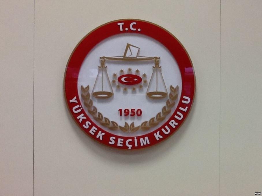 Logo of Supreme Electoral Council of Republic of Turkey