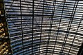 London - St Pancras International Rail - Single Roof Span 1868 by William Henry Barlow & Rowland Mason Ordish - View Up & SSE I.jpg