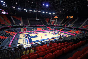 Basketball Arena (London) - The Basketball Arena interior