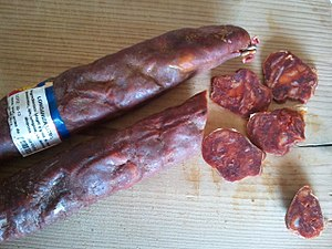 Longaniza - Longaniza from Castile and León, Spain