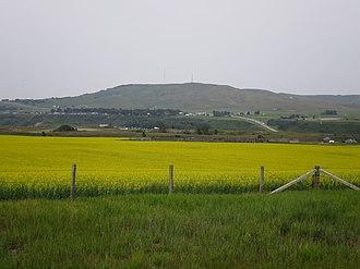 Longview, Alberta - Longview seen across the Highwood River