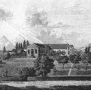 Longwood House residence of Napoleon Bonaparte on Saint Helena