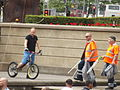 Lord Mayors Show 2014 - Victoria Square - Bike tricks (14235742750).jpg