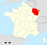 Lorraine region locator map.svg