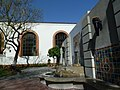 Los Angeles, CA, Union Station North Courtyard East Windows Decoration Detail, 2012 - panoramio.jpg