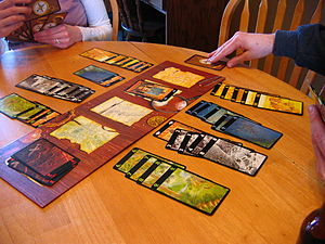 Lost Cities - A game of Lost Cities