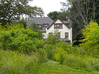 Mayfair House - Empty lot with Connie Mack's house behind it