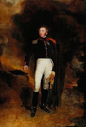 Louis Antoine, Duke of Angoulême -  Louis-Antoine d'Artois, Duke of Angoulême (by Thomas Lawrence, 1825)