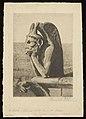 Louise Danse - Le Diable; chimères de Notre-Dame de Paris - Graphic work - Royal Library of Belgium - S.V 91885.jpg