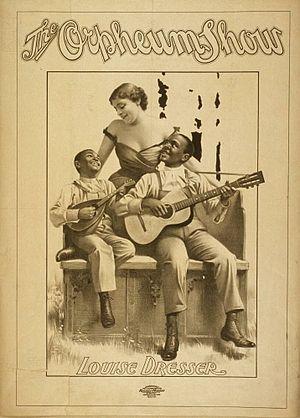 Louise Dresser - Louise Dresser in a 1900 vaudeville show