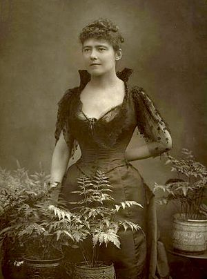 Louise Jopling - Photograph of Louise Jopling  by  Herbert Rose Barraud