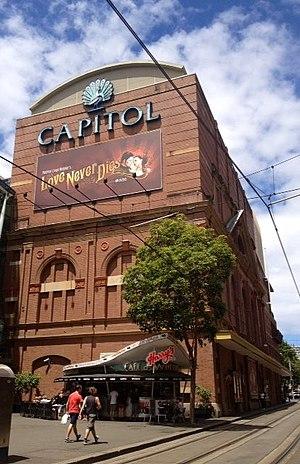 Capitol Theatre, Sydney - Image: Love Never Dies