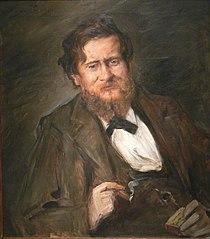 Portrait des Malers Fritz Rumpf