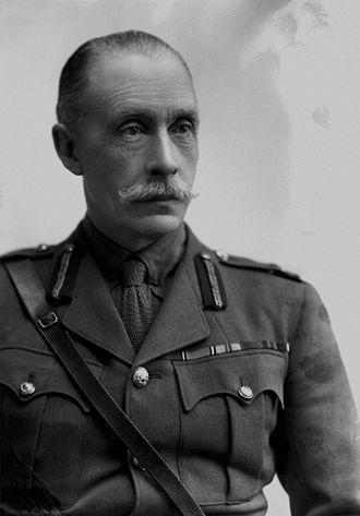 Edward Cecil Bethune - Lieutenant General Sir Edward Bethune in 1917