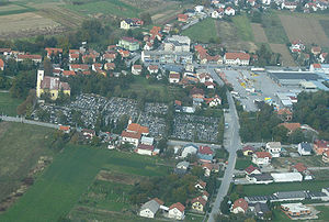 Lučko - View from the air