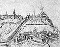 Lubiecki zamak. Любецкі замак (A. Westerveld, 1651).jpg