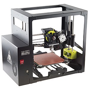 Aleph Objects - A LulzBot Mini, one of several models in the LulzBot line of 3D printers