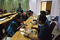 Lunch - Mini Train the Trainer and MediaWiki Training Proramme - Kolkata 2017-01-07 2444.JPG