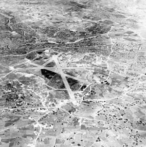 Malta International Airport - Luqa airfield in 1941