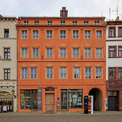 Cranach-Hof Markt 3 und 4 (Lutherstadt Wittenberg).