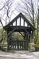 Lych-gate at entrance to Sunnyhurst Wood - geograph.org.uk - 1248639.jpg