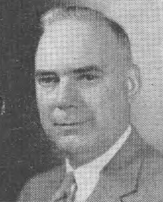 General Counsel of the Navy - Image: Lyle S. Garlock, Asst Sec AF (Fin Mgt & Comp), 1957