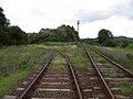 Mátramindszent 83-as vasútvonal kiágazása.jpg