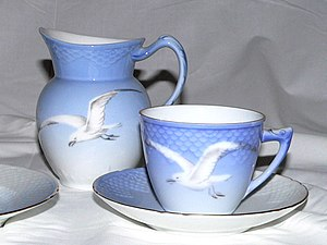 Royal Copenhagen - Seagull dinnerware, designed by Fanny Garde of Bing & Grøndahl in 1895