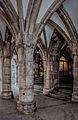 München, Rathaus - vielgliedriges Kreuzgratgewölbe im Durchgang zum Prunkhof (14058753531).jpg