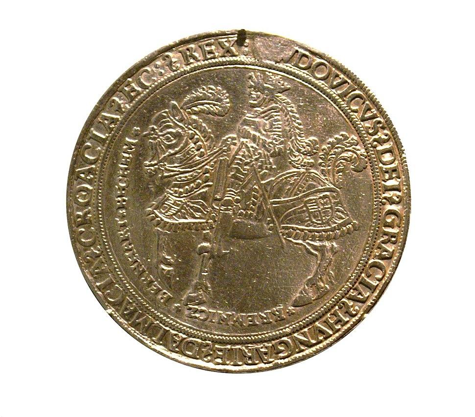 Münze Ludwig II Ungarn