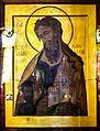 Müqəddəs Mürdaşıyan Zənənlər Kafedralında Müqəddəs Yelisey ikonası.jpg