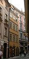 Městský dům U bílé botky (Staré Město), Praha 1, Karlova 28, Staré Město.JPG