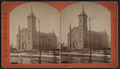M.E. church, Glens Falls, re-dedicated Feb. 15, 1874. Cost $45,000, by Conkey, G. W. (George W.), 1837-ca. 1900.png