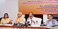 M. Venkaiah Naidu at the meeting to review activities of I&B Field Units in Haryana and Northern Region, at Chandigarh.jpg